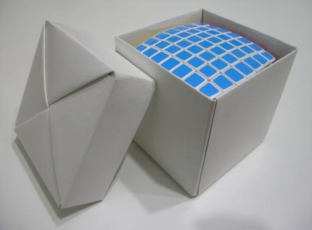 Caixas De Origami Para Cubos